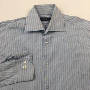 Hugo Boss Mens Dress Shirt 14.5-32/33 C2112